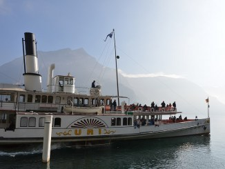 Dampschiff Uri Weg der Schweiz