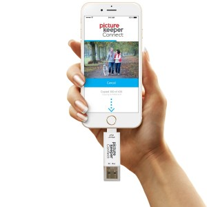 Picture Keeper Connect best travel USB drive for phones