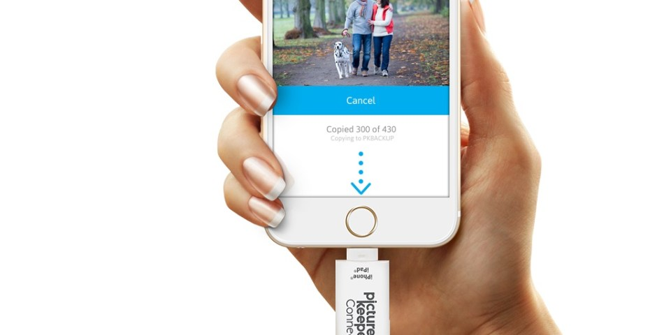 Picture Keeper Connect best portable USB drive for phones