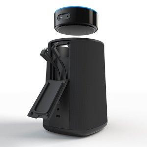 VAUX best cordless speaker and portable battery for Echo Dot