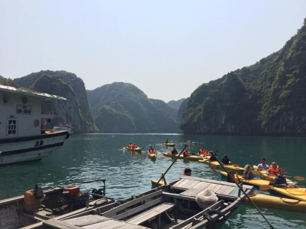 Ha long bay on a budget