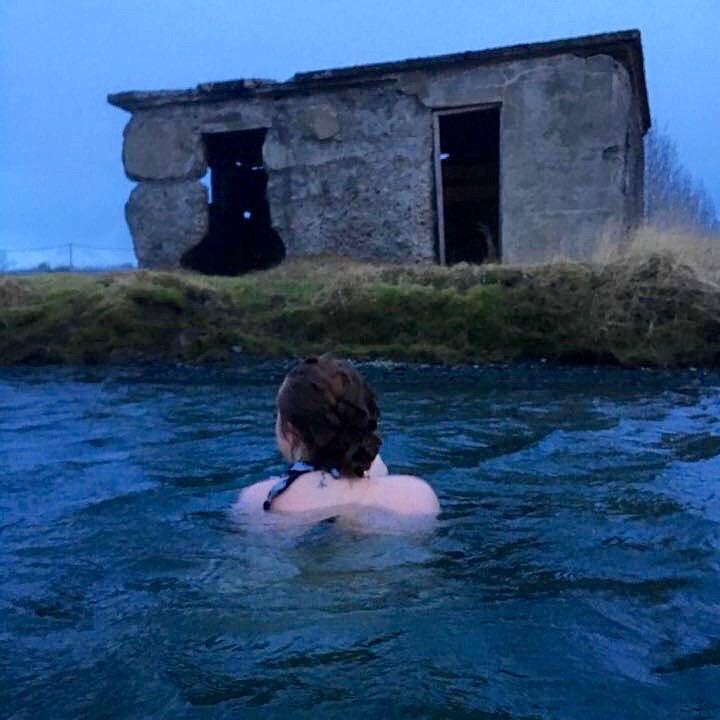 Secret Lagoon in Iceland