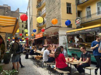 Karavan Street Food in Budapest