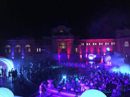 Szechenyi Baths Party