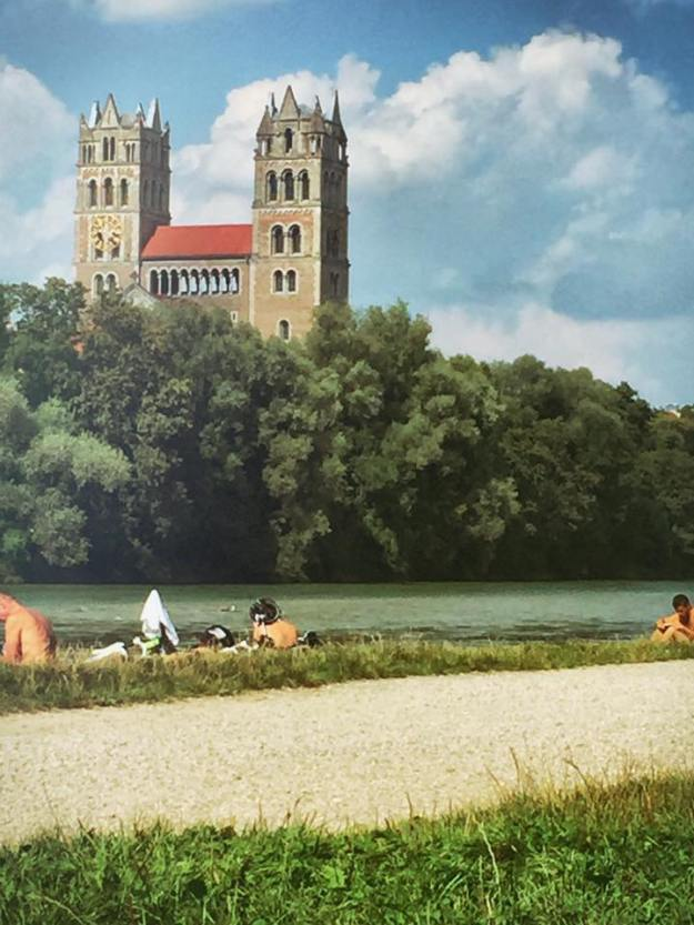 Munich Biking at the Isar