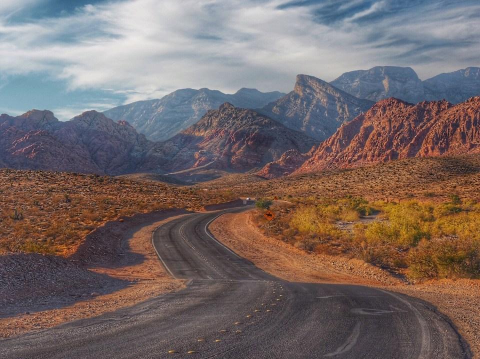 Red Rock Canyon Nevada Wandering Chocobo