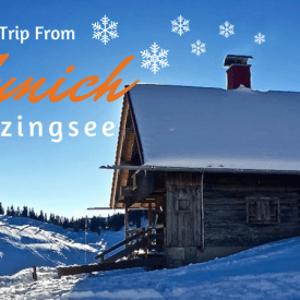 Winter Day Trip From Munich – Sledding at Spitzingsee