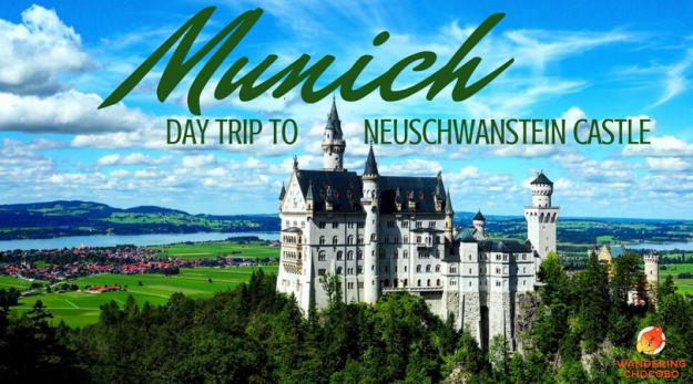 Day trip from Munich Germany to the Disney Neuschwanstein Castle