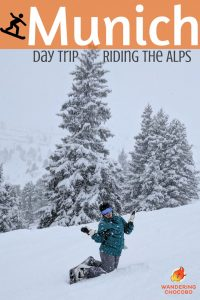 Enjoy a fun filled day of skiing or snowboarding in the German and Austrian alps with these easy day trips from Munich, Germany