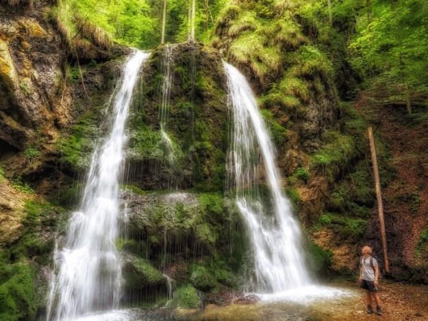 Josefsthaler wasserfälle waterfall brecherspitze hike Bavaria Germany Wandering Chocobo
