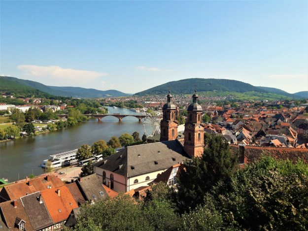 Miltenberg Skyline travels of a bookpacker