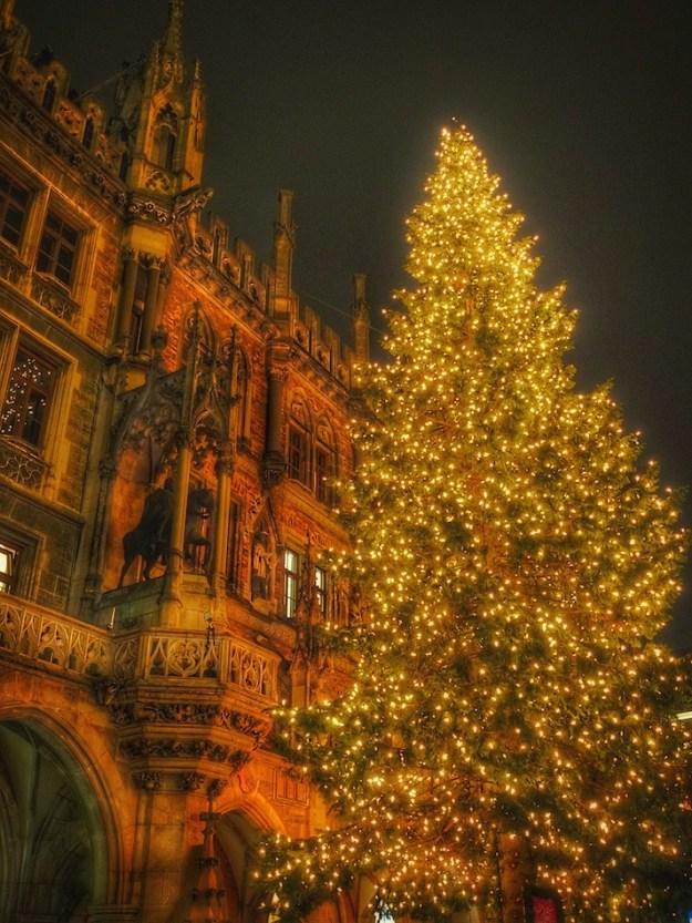 Marienplatz Munich Christmas Market Wandering Chocobo