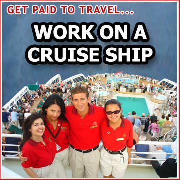 Job On Board Cruise Ships