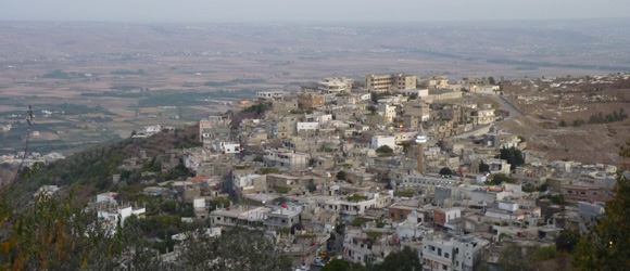 View of Syria