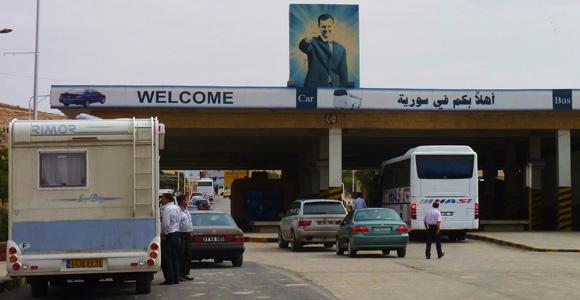 Turkey/Syria border crossing