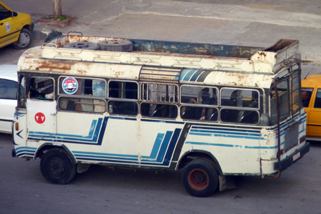 Travel in Syria - Bus in Syria