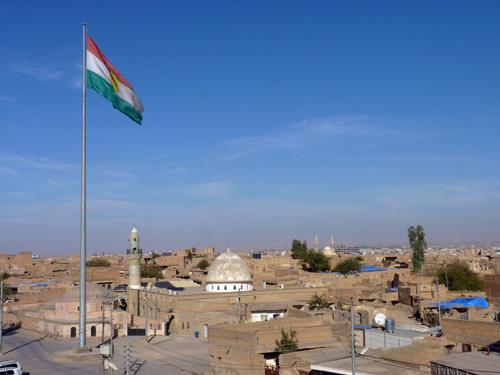 Kurdish Flag, Erbil