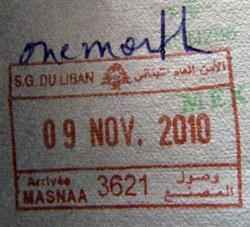 Costs To Travel In Lebanon - Lebanon visa