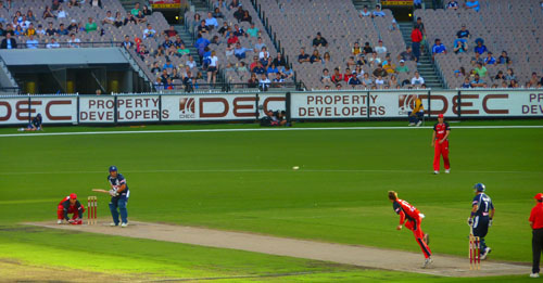 Week In Melbourne - Cricket at the MCG