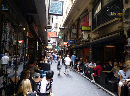 Degraves Lane, Melbourne