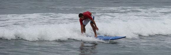 Surfing in Mexico