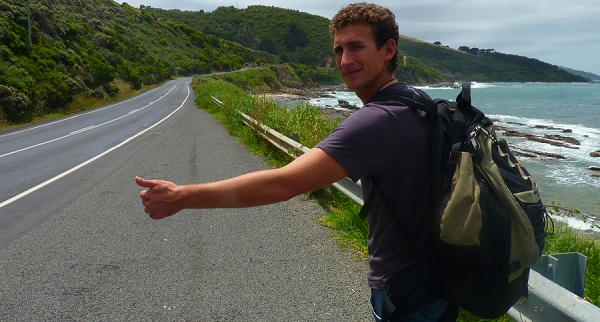 Hitch-hiking in Australia