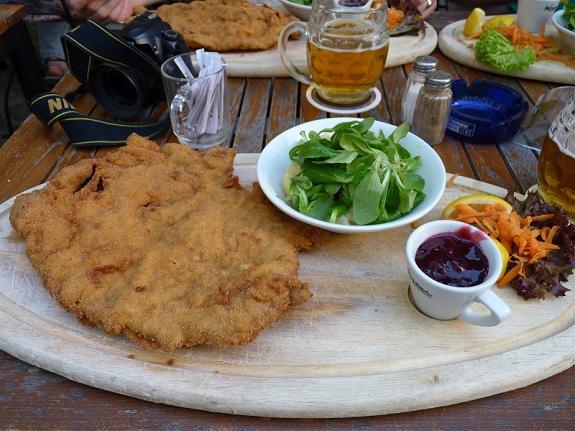 Largest Wiener Schnitzel