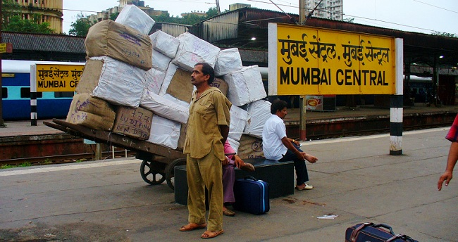 Mumbai Central Train Station