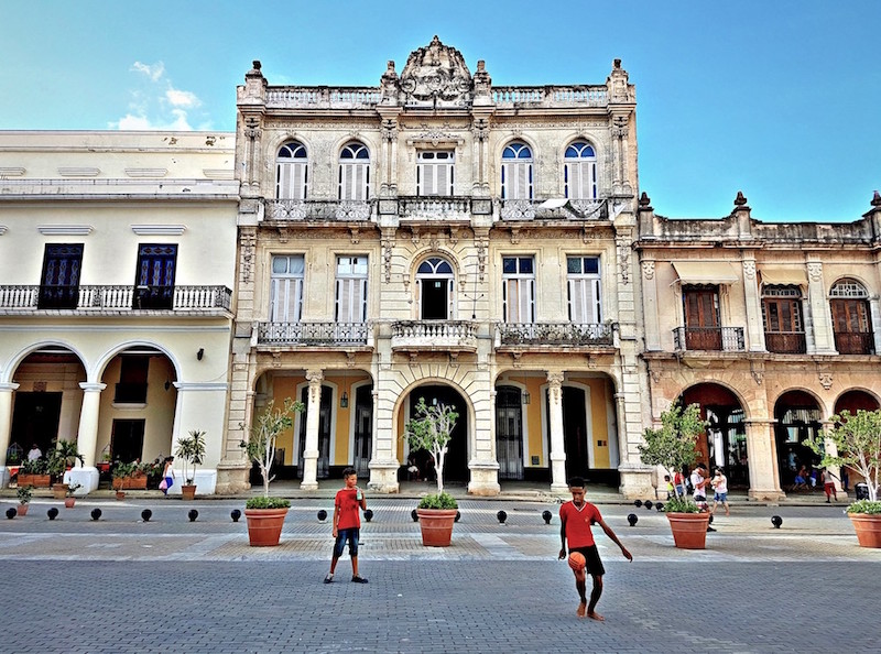 Travels in Cuba - Plaza Old Havana
