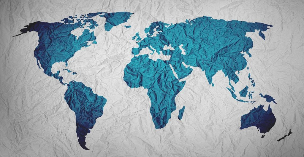 Top 197 Countries in the World - map