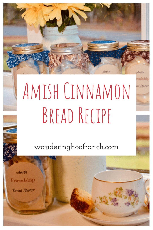 amish cinnamon bread recipe