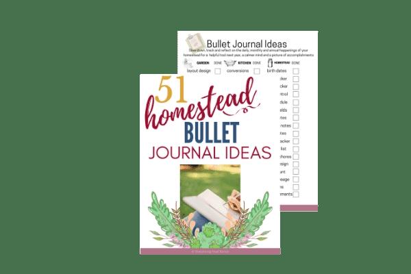 homestead bullet journal