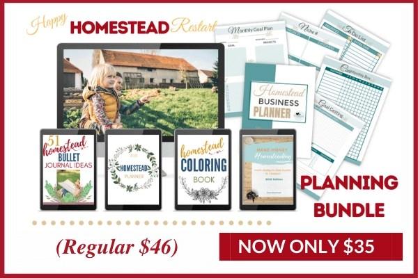 happy homestead restart planning bundle image