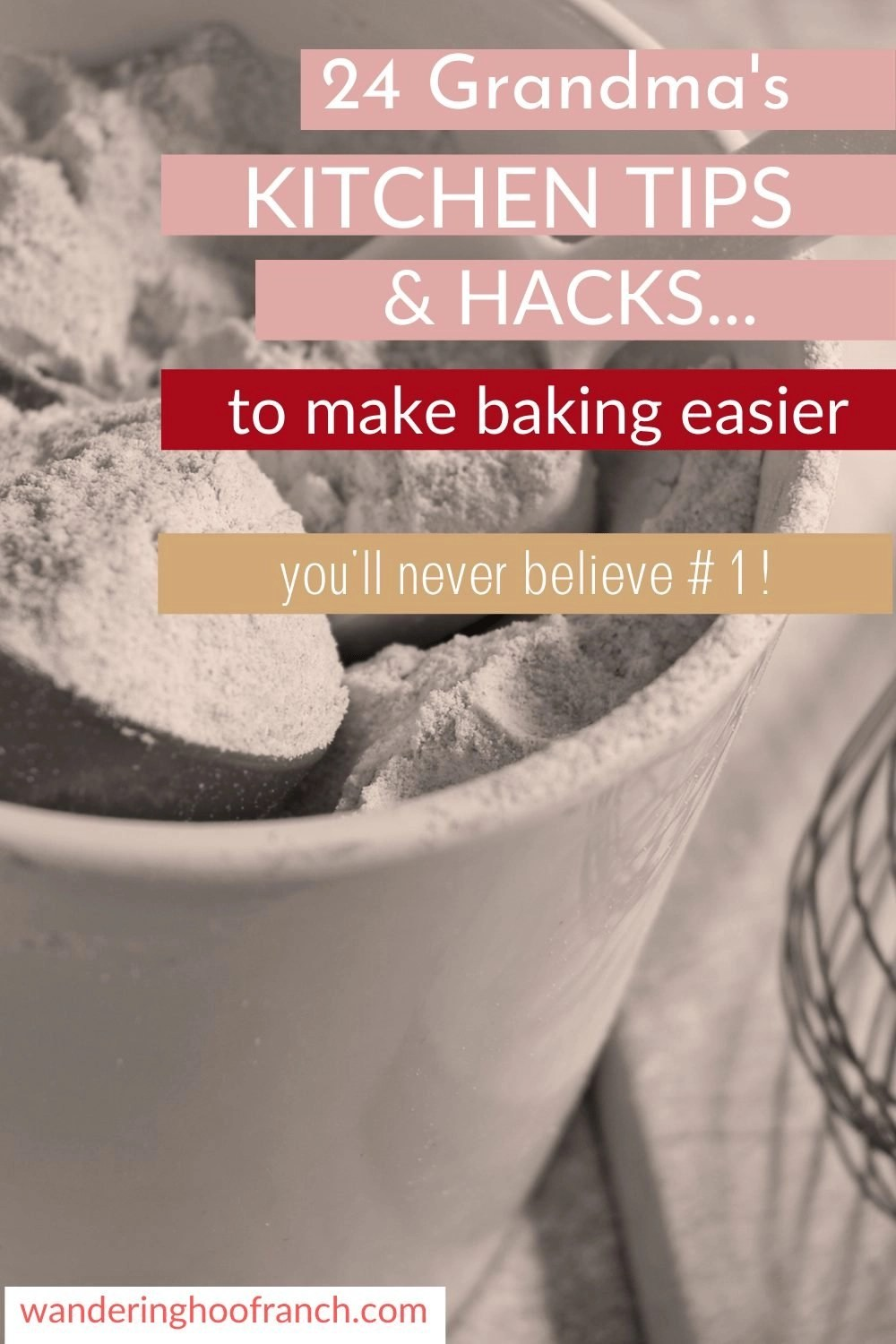 kitchen tips and hacks