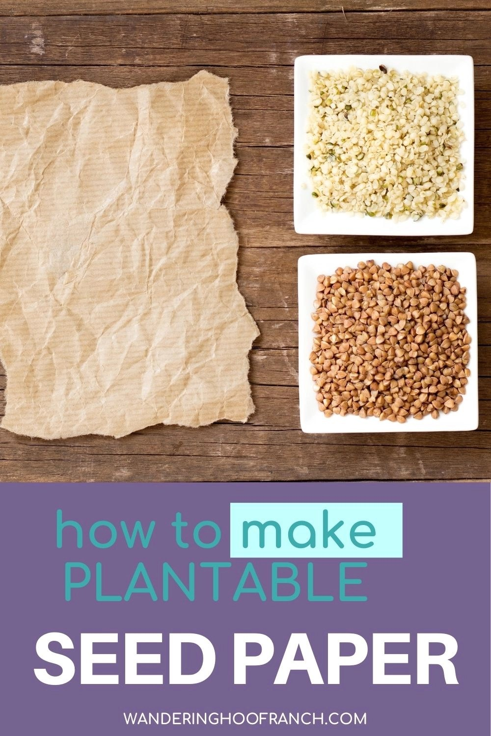 plantable seed paper pin image