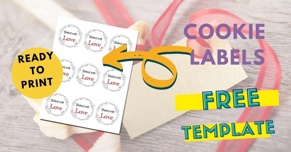 baked with love labels