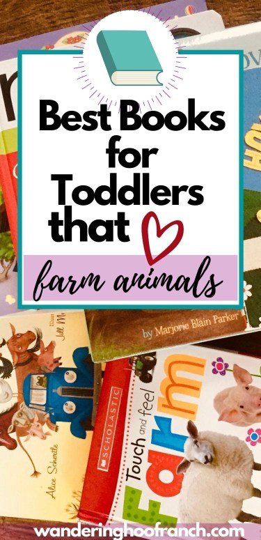 best books for toddlers that love farms and farm animals