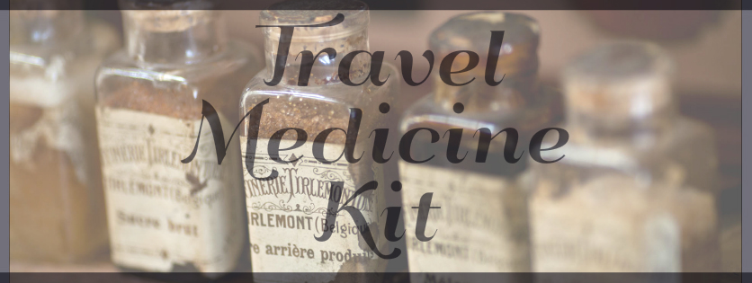 Whats in my travel medicine kit?