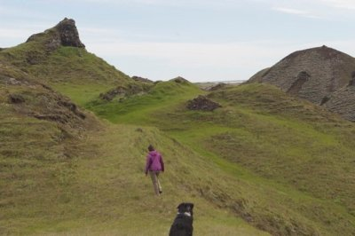 pseudocraters iceland