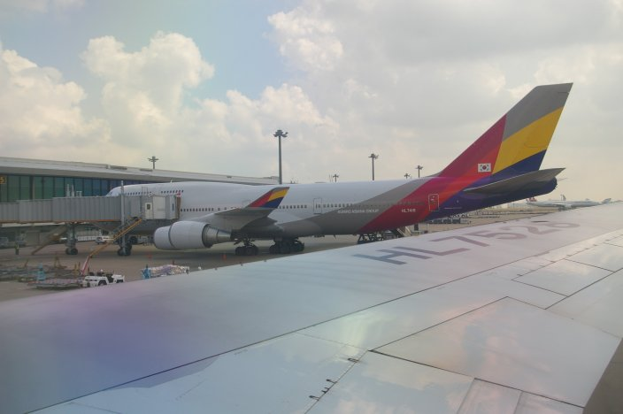 Asiana Airlines Review: 5 Flights