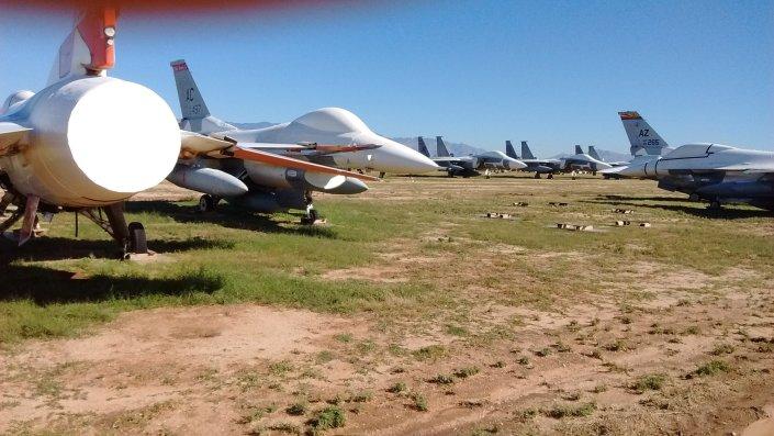 Running the Desert Boneyard 10k