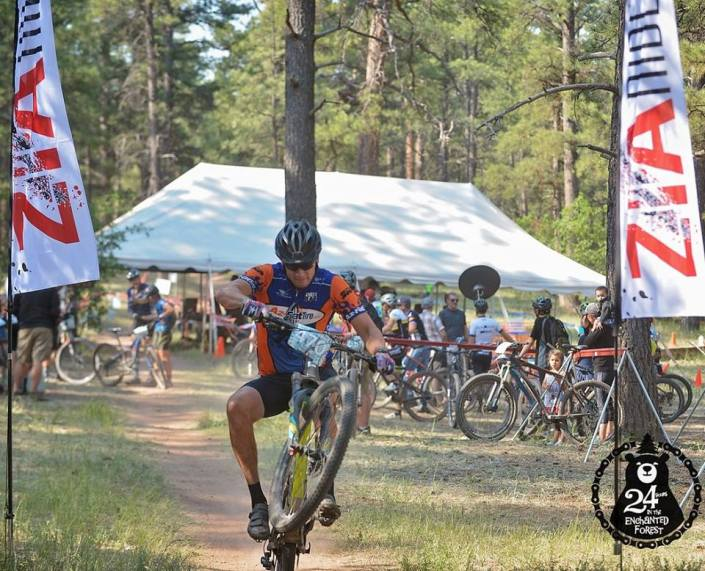 24 Hours of Enchanted Forest Race Report – Pedal With Warriors Team
