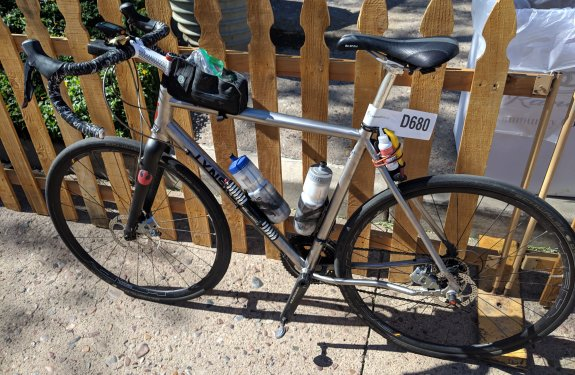 buying a titanium bike