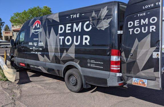 rocky mountain demo tour