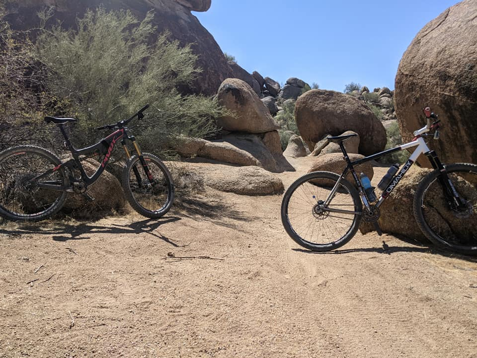 What's Up with the Pyramid Peak Mountain Bike Trails?