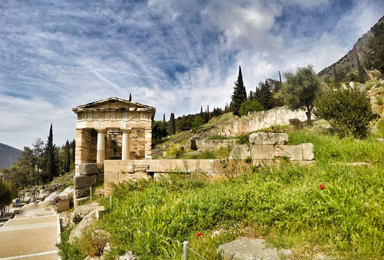 Treasury at Delphi