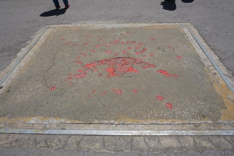 Sarajevo Blood stains