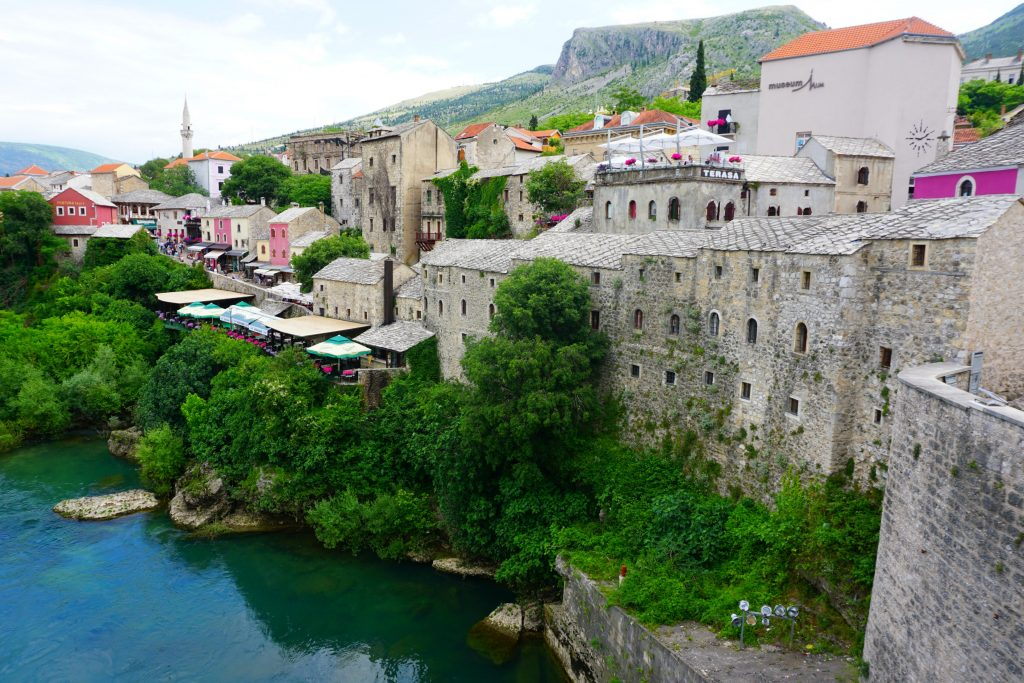 mostar town view