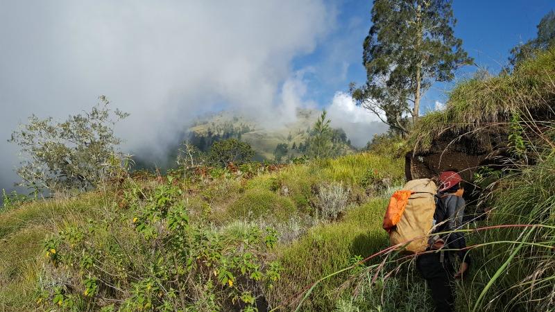 Mt Rinjani Crater Rim