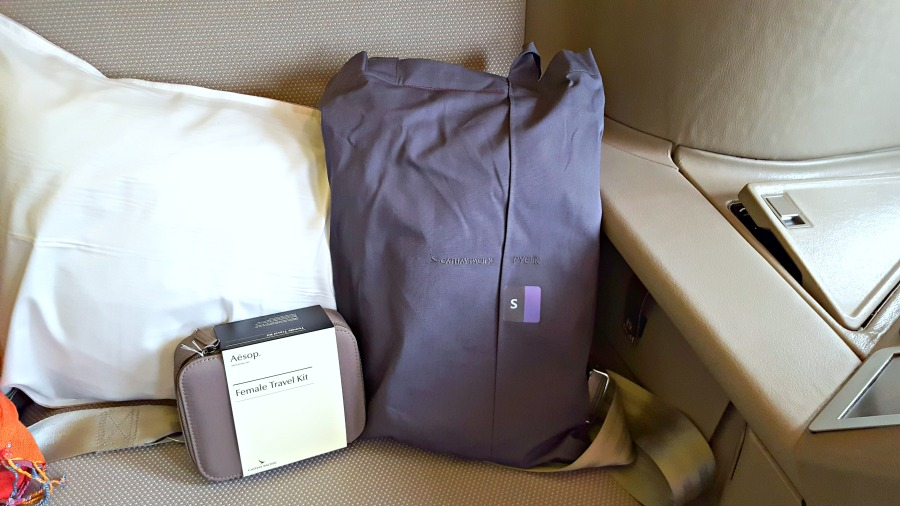 Review of Cathay Pacific First Class